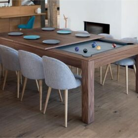 Aramith Fusion Pool Dining Table in Wood