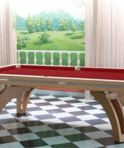 Etrusco Eco-Stitched Leather P40 Pool Table