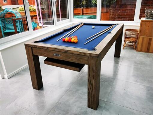 Signature Chester Silver Mist Pool Dining Table